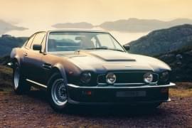 Aston Martin V8 Vantage pohled zepředu