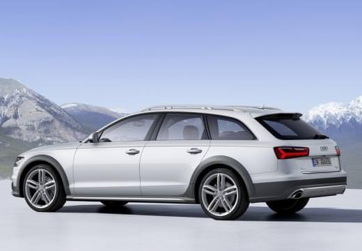 Audi A6 Allroad Quattro stříbrné