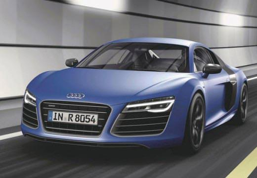 Audi R8 předek modrý