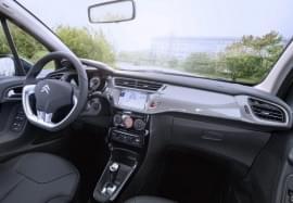 Citroën C3 zevnitř