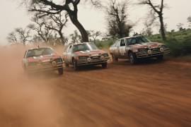 Citroën CX na Rallye Senegal