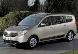 Dacia Lodgy zepředu