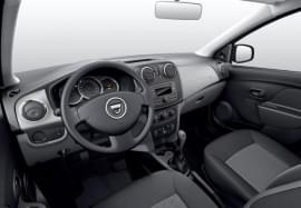 Dacia Sandero interiér