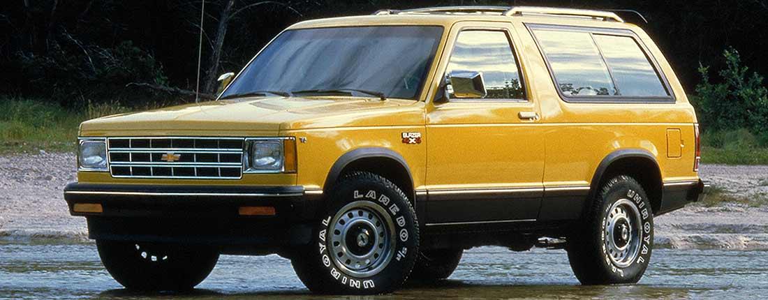 Koupit Chevrolet Blazer Ojet Vz U Autoscout24