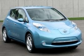 Nissan Leaf zepředu