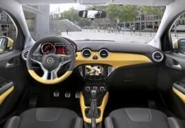 Opel Adam přístrojová deska