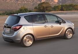Opel Meriva boční pohled