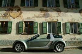 Smart Roadster boční pohled