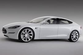 Tesla Model S ze strany