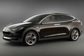 Tesla Model X zepředu