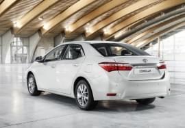 Toyota Corolla pohled zezadu