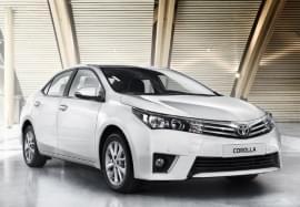 Toyota Corolla pohled zepředu