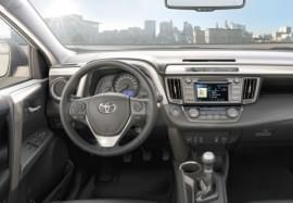 Toyota RAV4 interiér